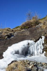 standhafter Eisvorhang