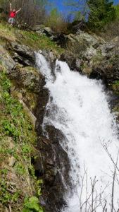 Wasser, der Wegbegleiter