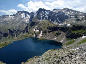 malerischer Schwarzsee