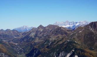 Blick Dachstein und Bischofsmütze