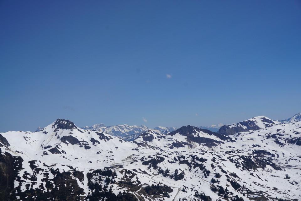 Blick vom Zehnerkar nach Nordwesten