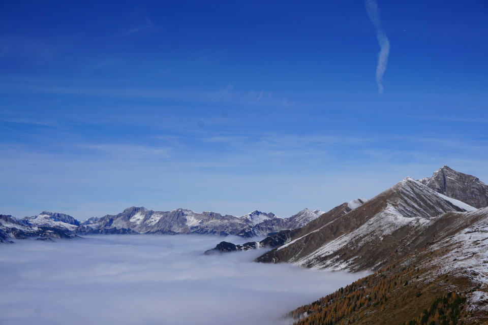 Taurachtal unter dem Nebel